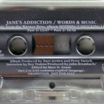 Words and Music Cassette Side 1