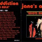 Idiots Rule (Vol. 1) Alternate Front & Back