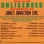 Jane's Addiction Live U-Card