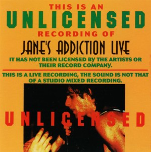 Jane's Addiction Live Cover