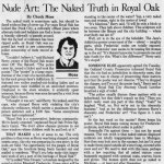 Detroit Free Press Article