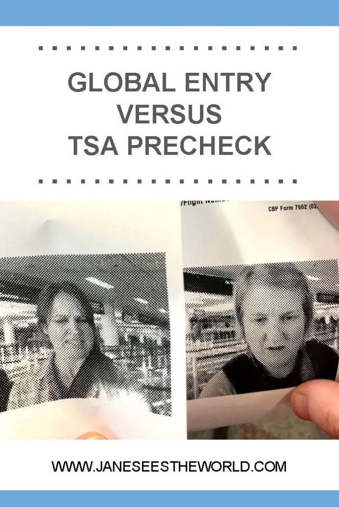 Global Entry pictures