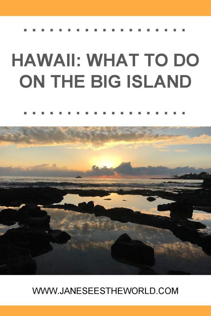 Big Island Hawaii sunset