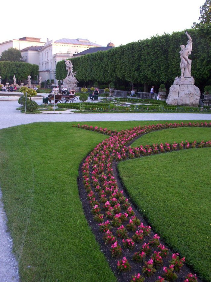 Mirabell Garden in Salzburg