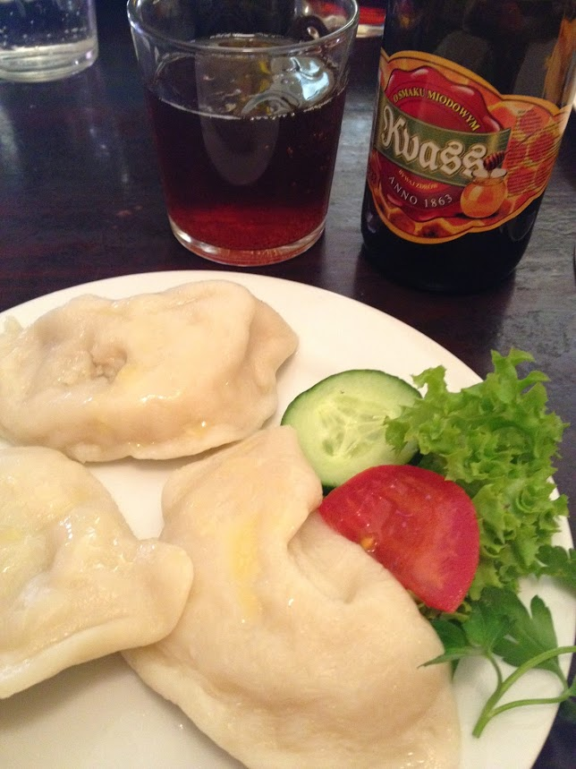 pierogis in Warsaw Poland vacation travel food