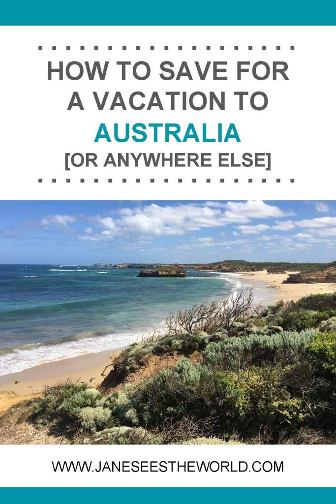 how to plan and save for a trip vacation women who travel Australia