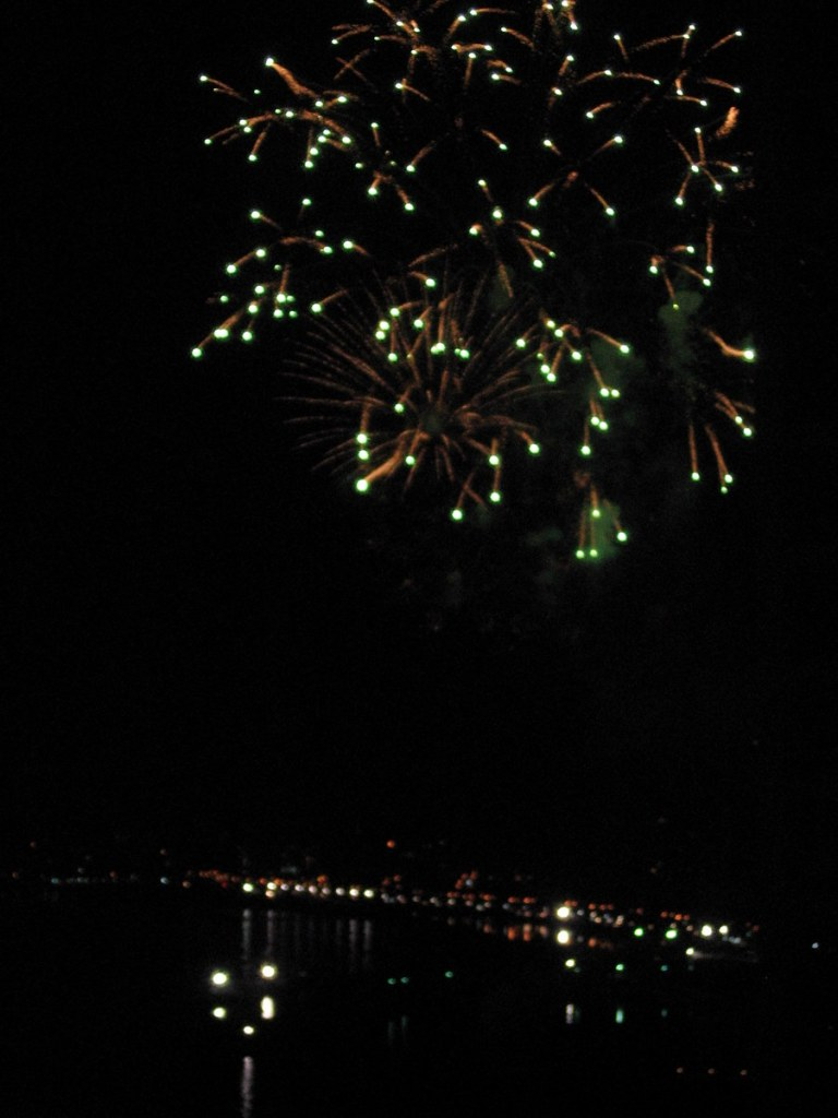 Firework dispay