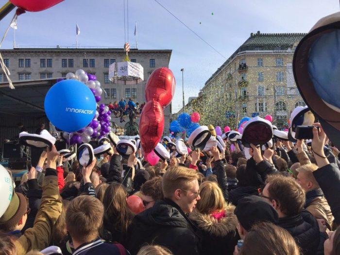 Vapuu celebration Helsinki Finland