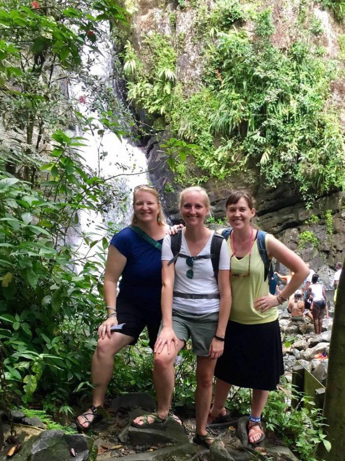 Hiking in El Yunque Rain Forest
