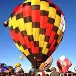 Balloon at the Fiesta