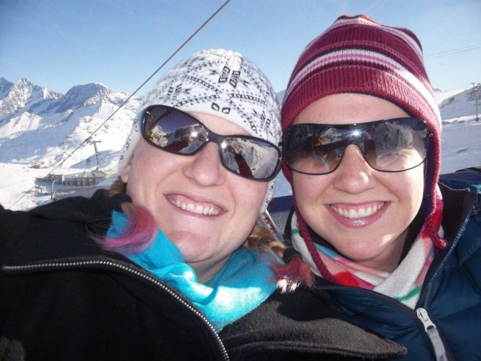 tips for choosing a travel companion skiing Switzerland women travelers vacation