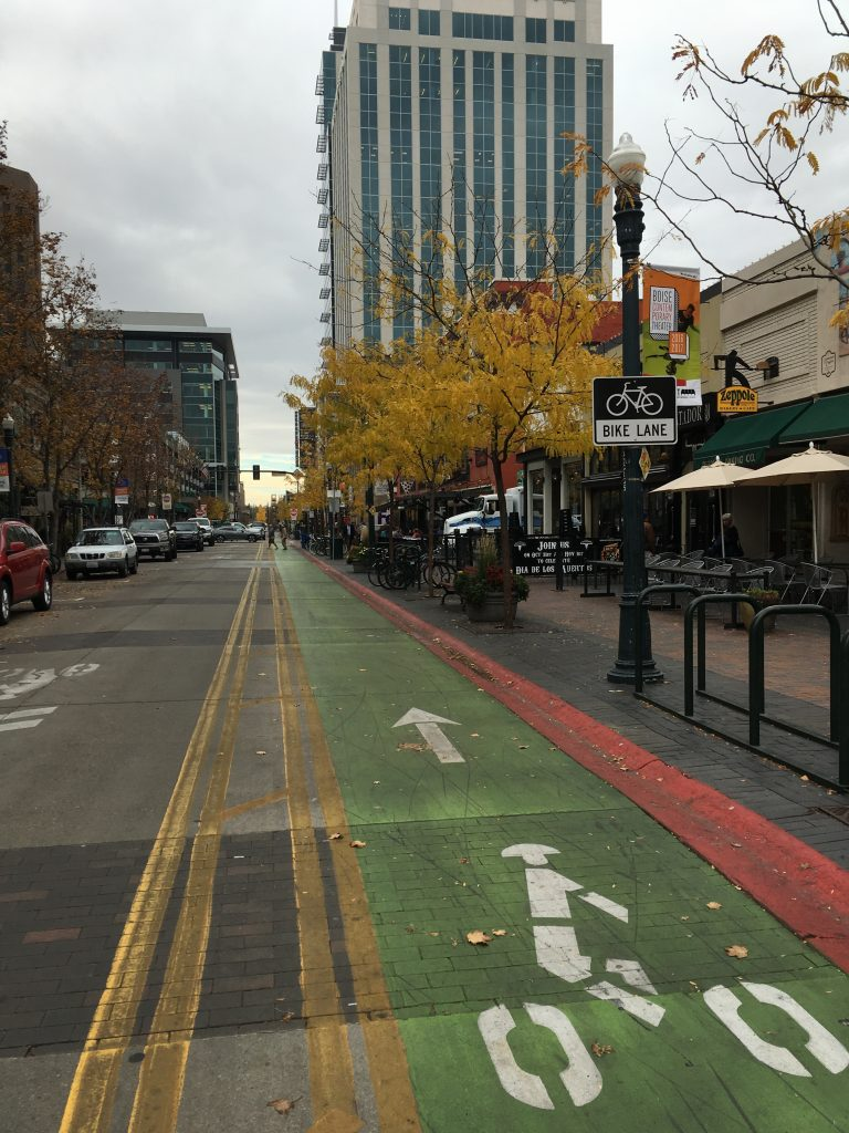 8th Street in Boise, idaho