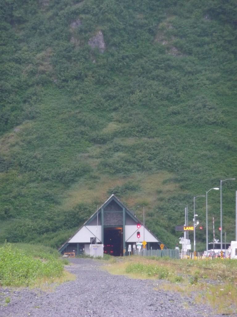 Tunnel in Whittier, Alaska