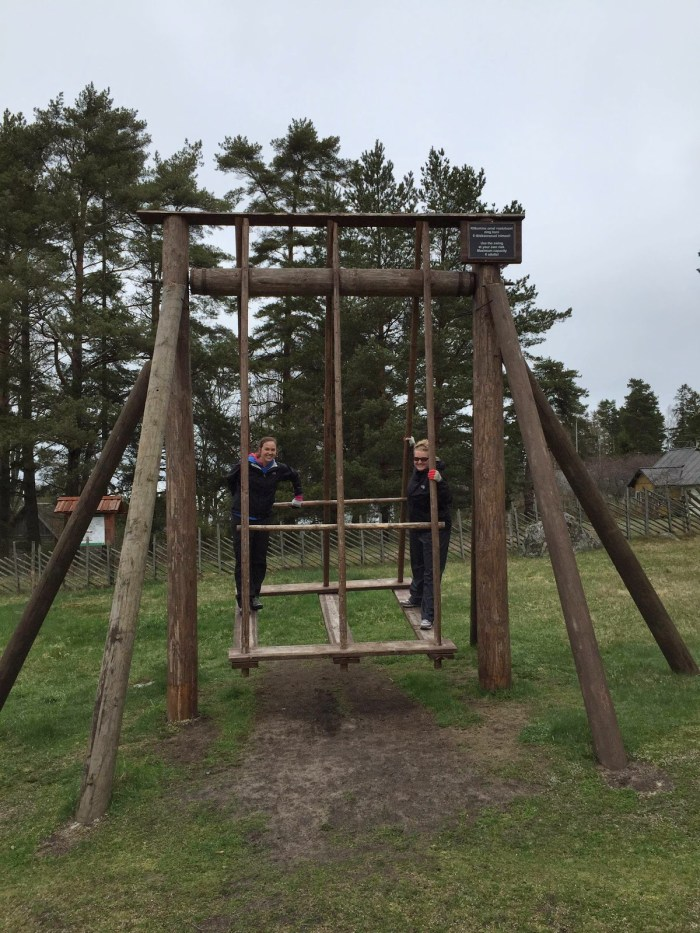 Kiik swing in Estonia vacation travel