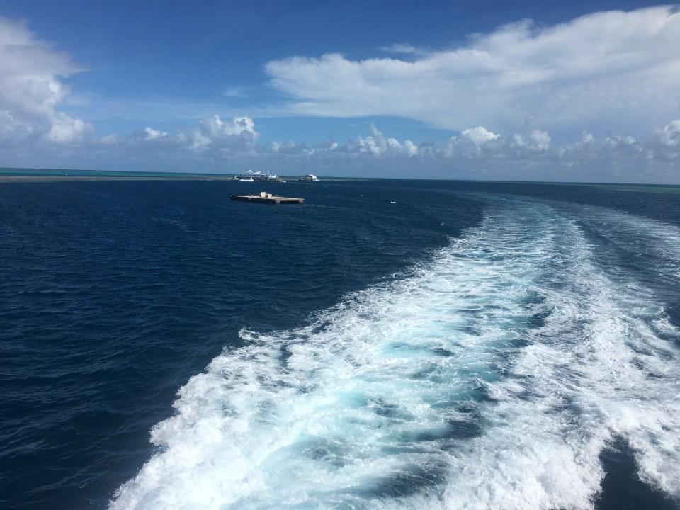 Reefsleep Australia Great Barrier Reef vacation travel