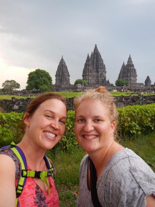Prambanan Temple, Indonesia, Friends