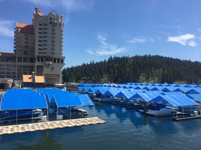 Coeur d'Alene Resort in northern Idaho