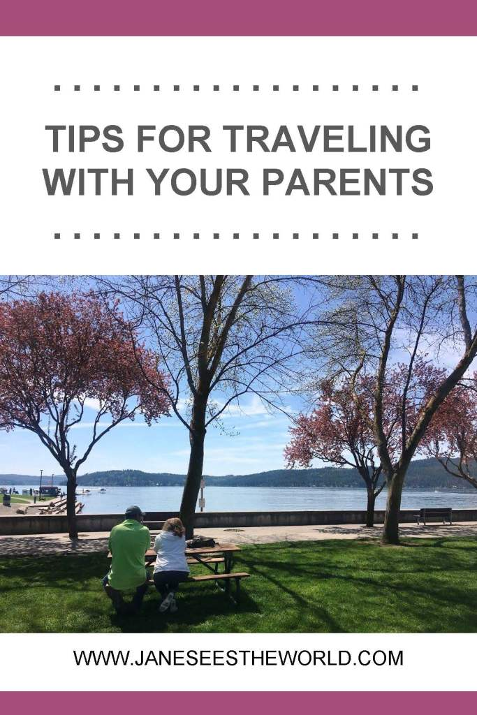 travel with parents, lake, Coeur d'Alene, Idaho