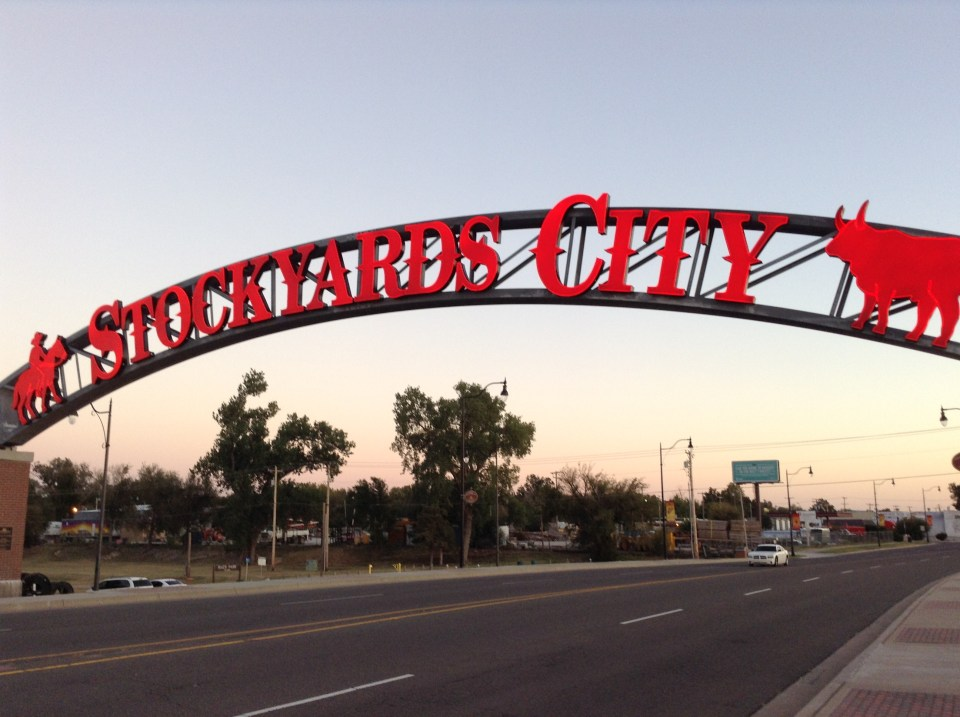 Oklahoma City Stockyards City Sign