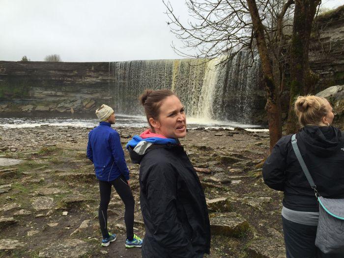 Estonian waterfall biking in Estonia