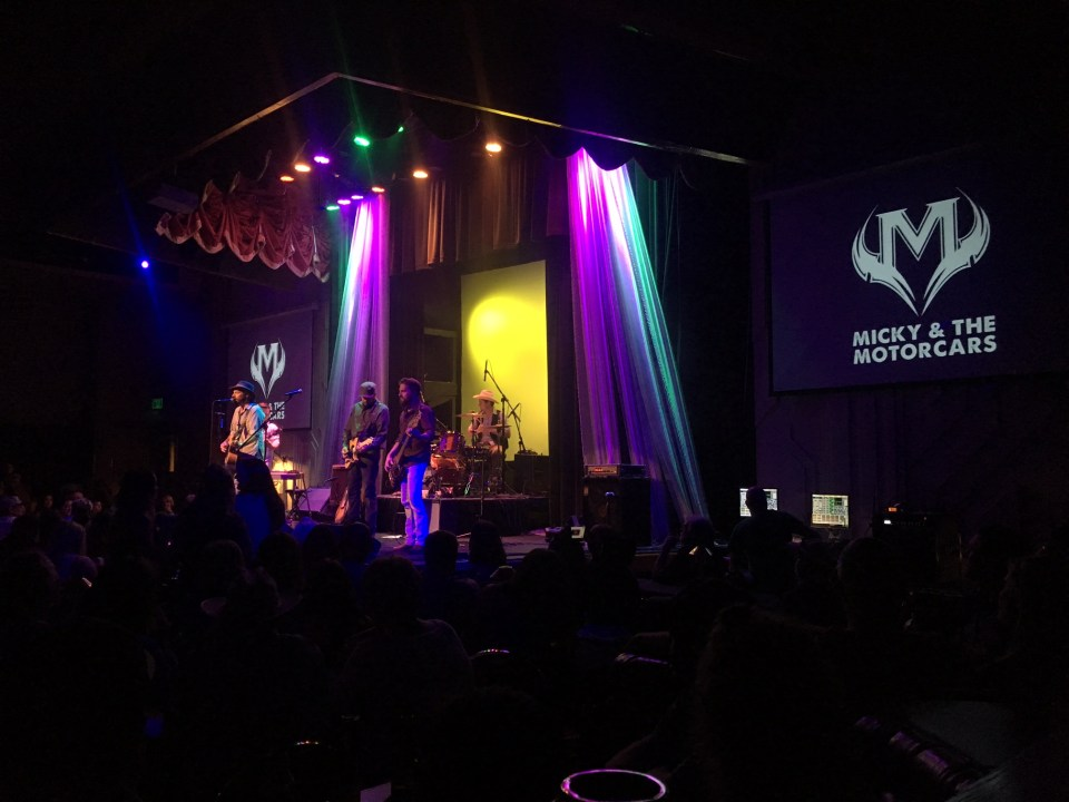 Micky and the Motorcars concert Jackpot Nevada casino