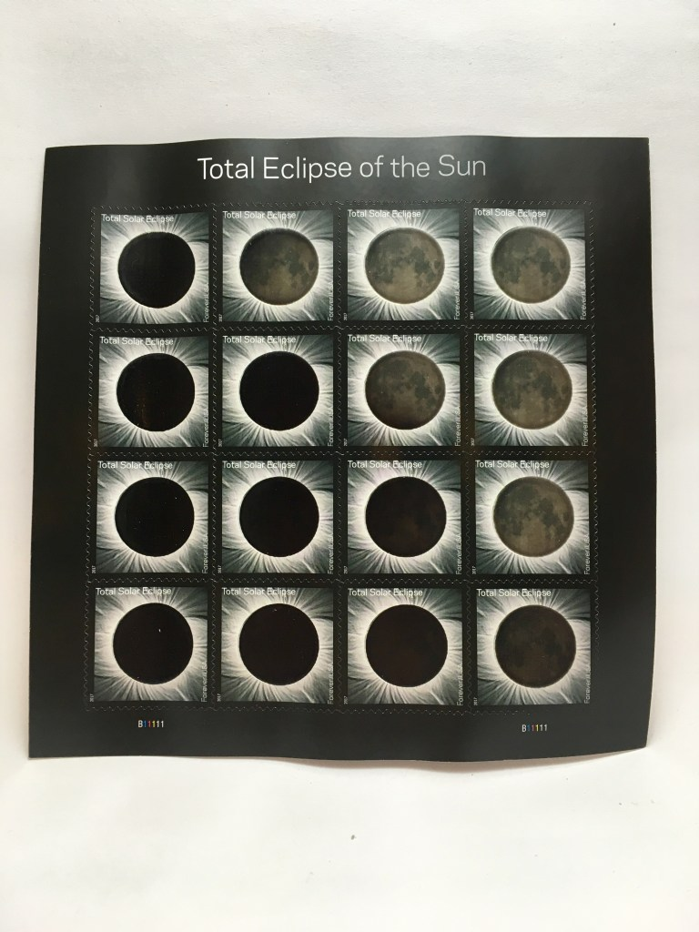 Eclipse Postage Stamps