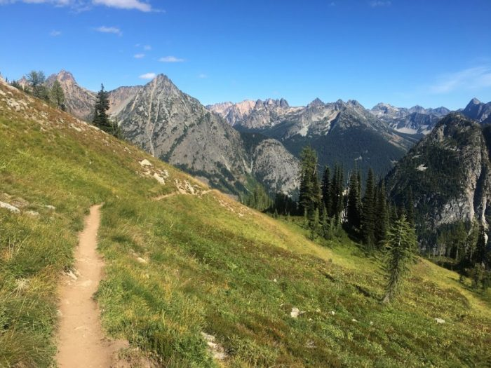 ideas for a girls' weekend include hiking north cascade national park in Washington