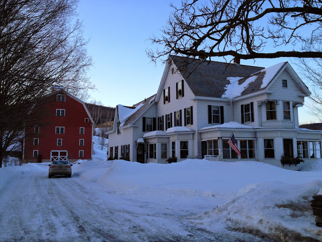 B&B in Vermont winter