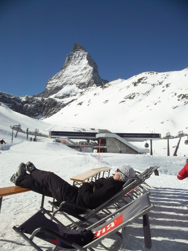skiing zermatt switzerland winter travel