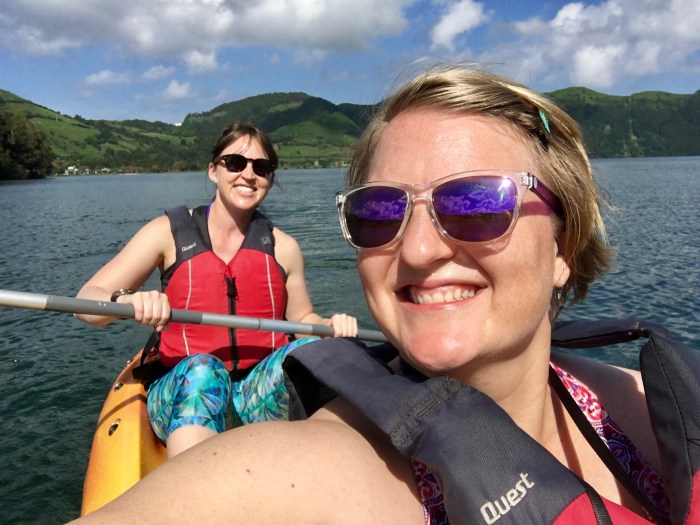 Kayaking in the Azores