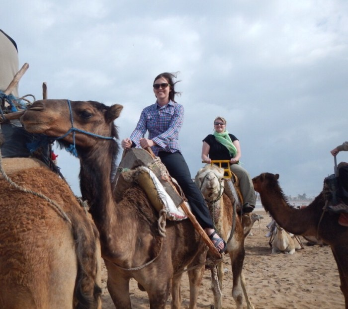 Riding camels in Morocco, resolution