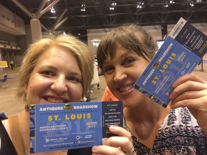 St. Louis, Antiques Roadshow, New Year's resolution, friends