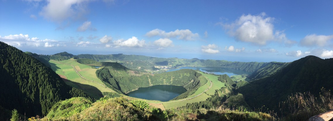 Sao Miguel Island in the Azores