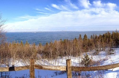 Acadia National Park in February
