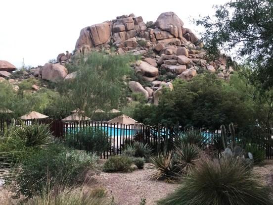 Boulders, spa day, Scottsdale, Arizona