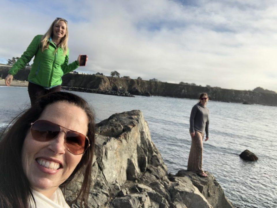 Hiking at Noyo Harbor