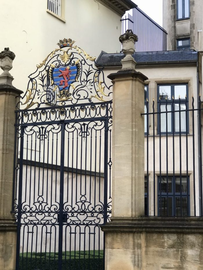 Luxembourg City Castle Gate