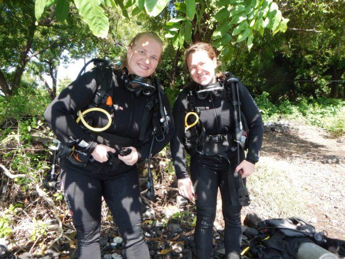 Scuba diving gear in Bali, Indonesia