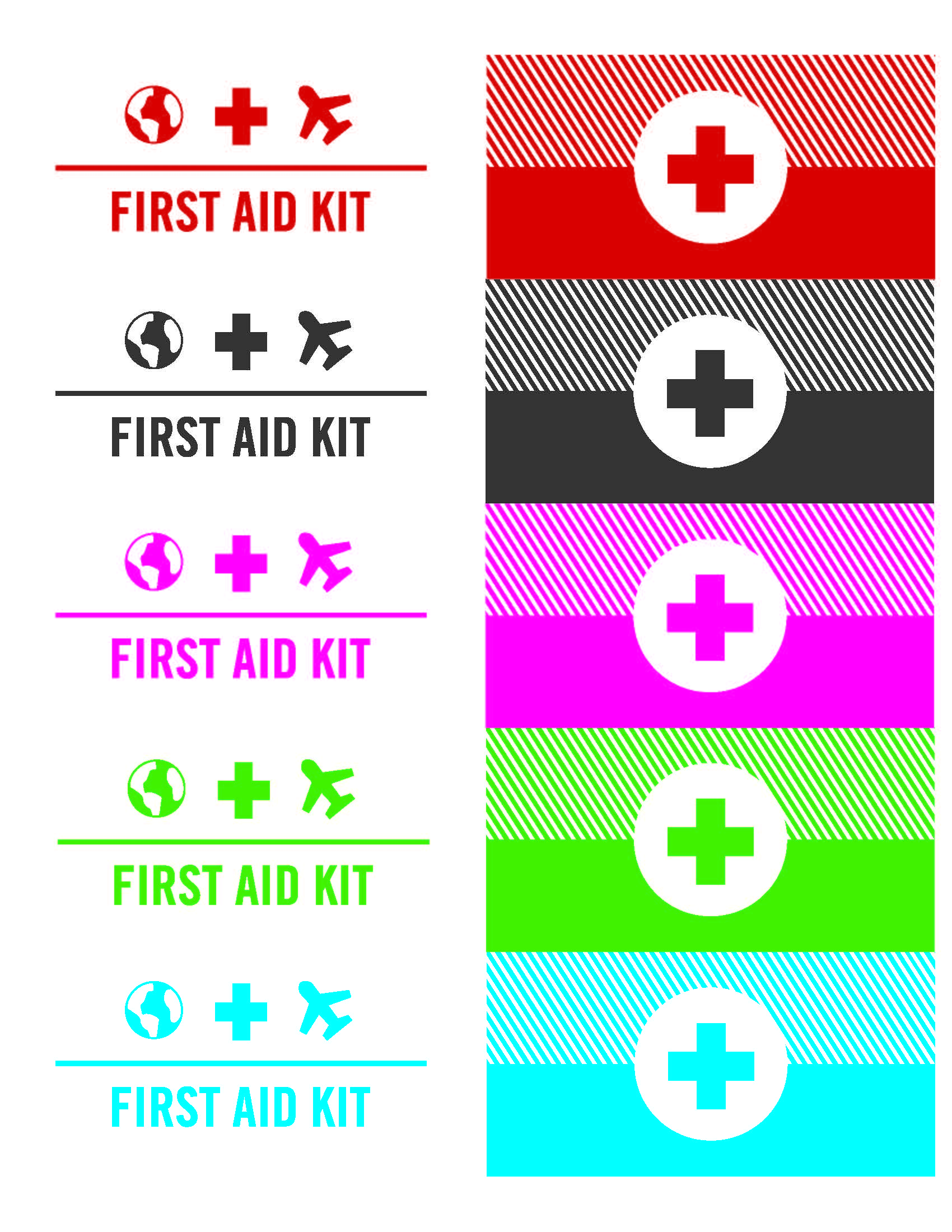 picture relating to Free Printable First Aid Guide referred to as Do it yourself mini generate to start with support package, what toward pack and how towards bring it