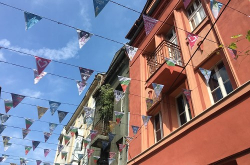 bunting Plovdiv Bulgaria evolving as a travler