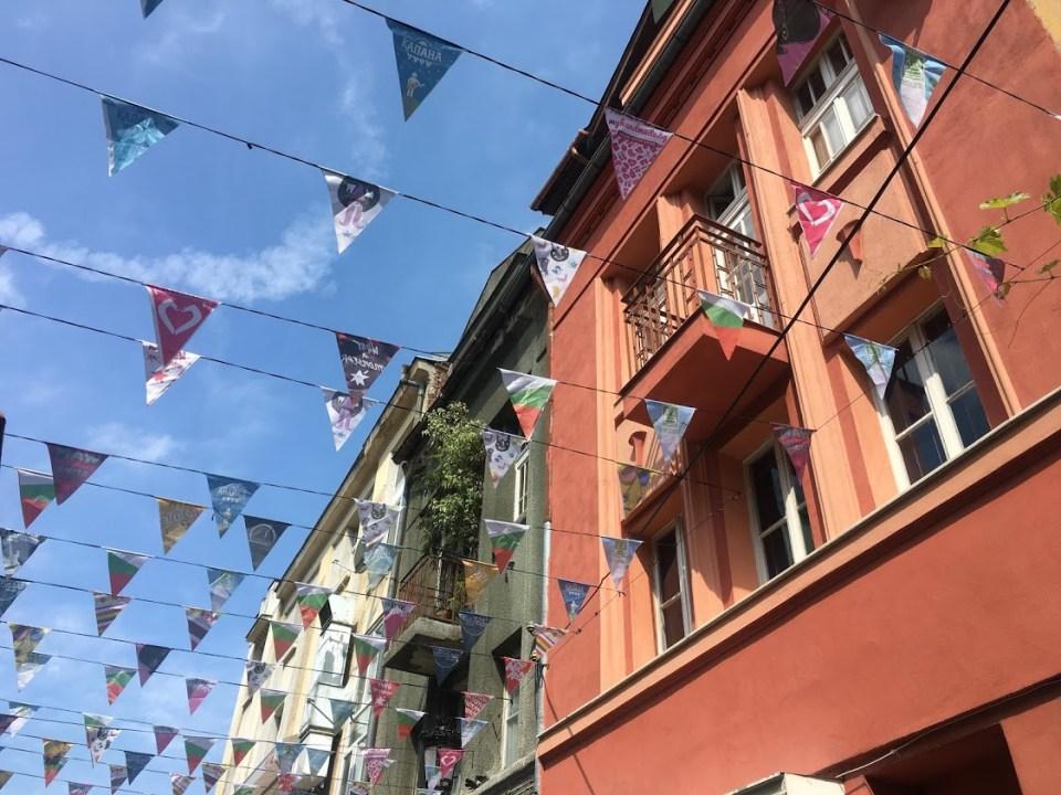 bunting Plovdiv Bulgaria evolving as a travler