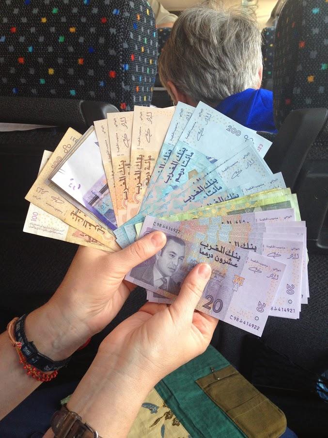 debit, credit or cash travel morocco