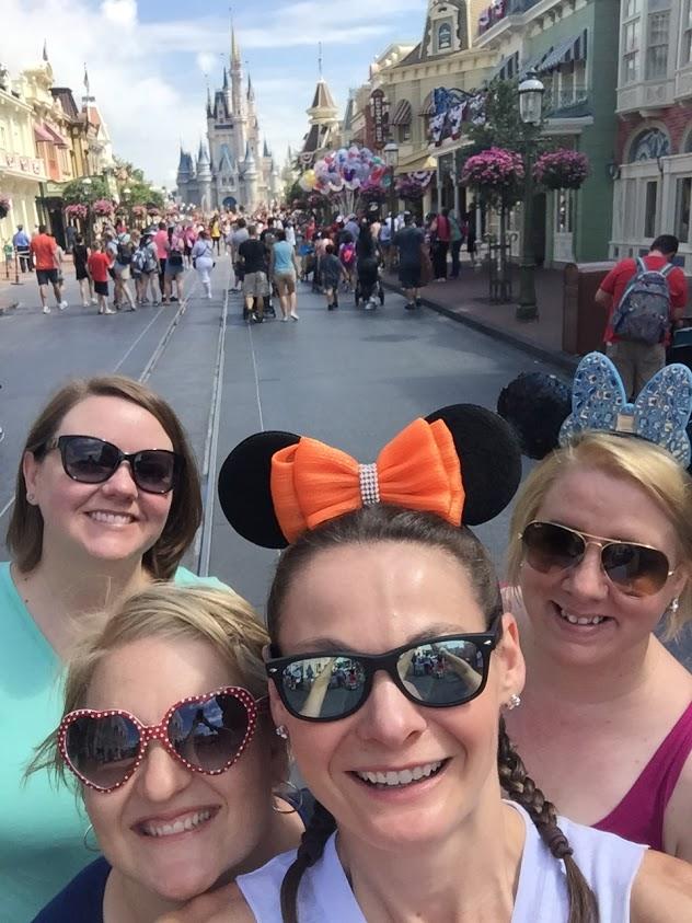Girls weekend at Disney World.