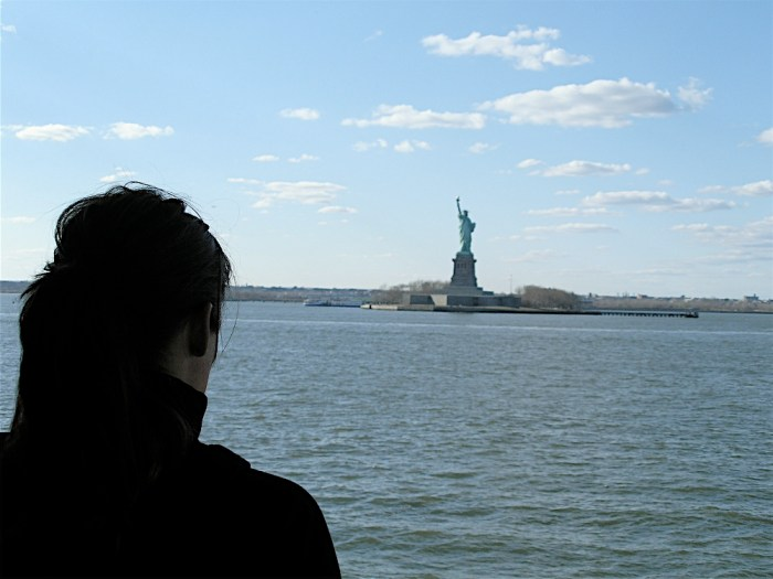 Statue of Liberty Staten Island Ferry New York