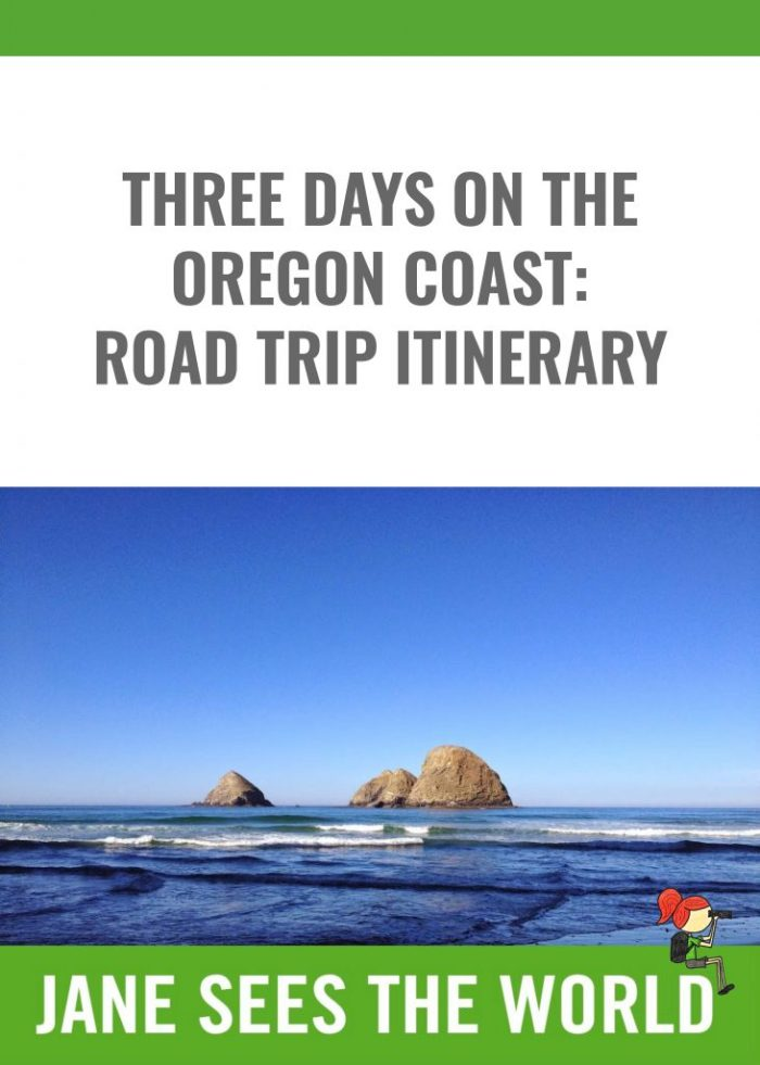Pinterest post for three days on the Oregon Coast
