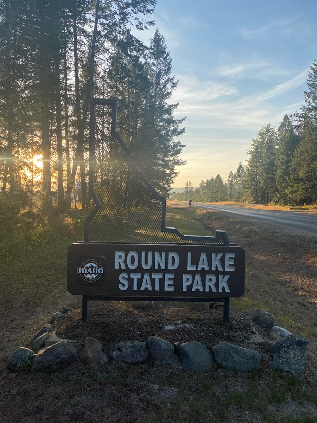 Round Lake State Park sign
