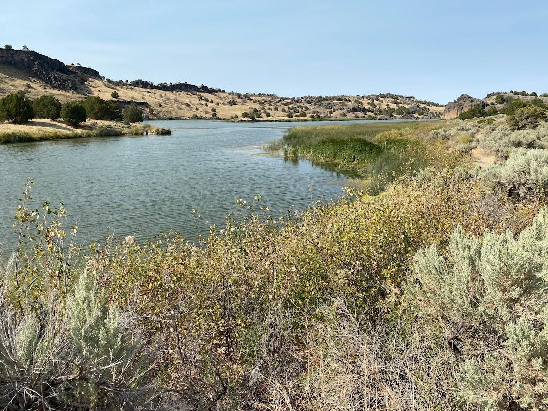 Snake River at Massacre Rocks State Park