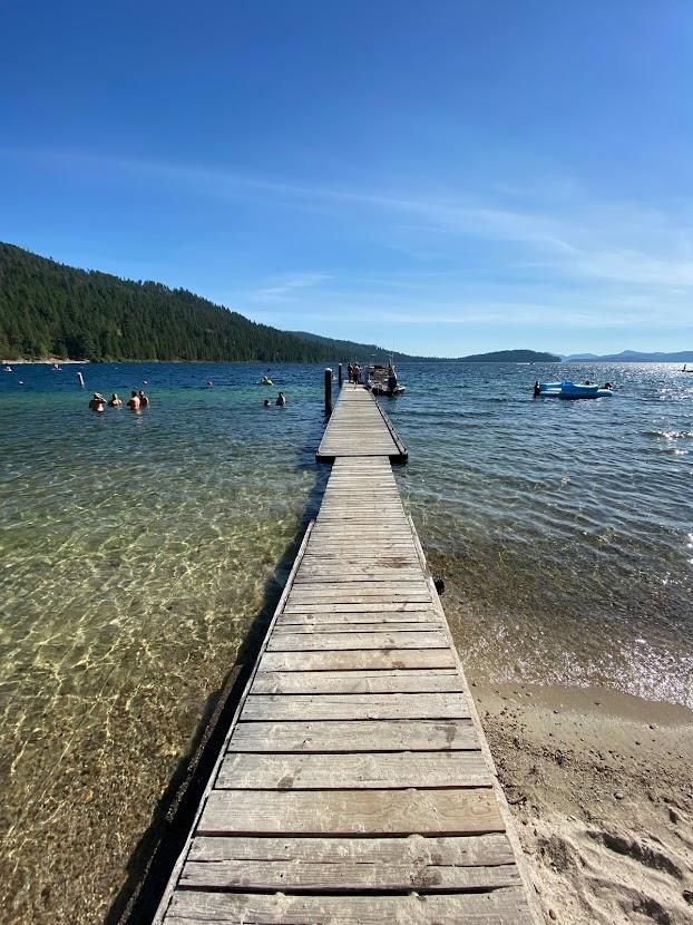 Priest Lake State Park dock.