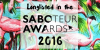Saboteur Awards 2016 The Faerie Thorn