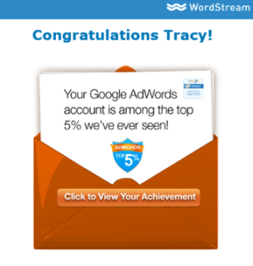 Adwords Success Certificate